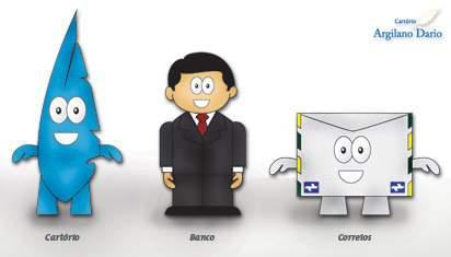 Cliente Cartório Argilano Dario – Desenvolvimento de Personagens