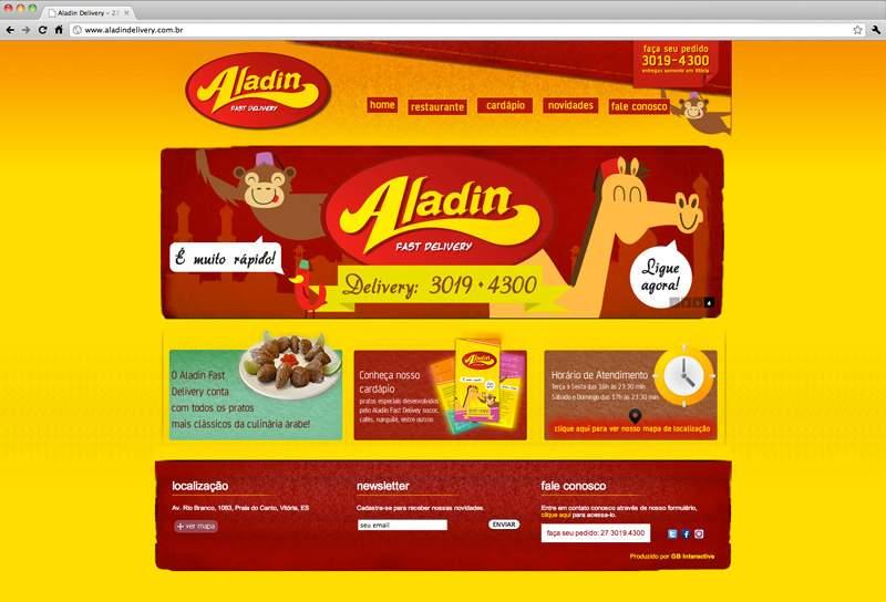 Cliente Aladin Fast Delivery
