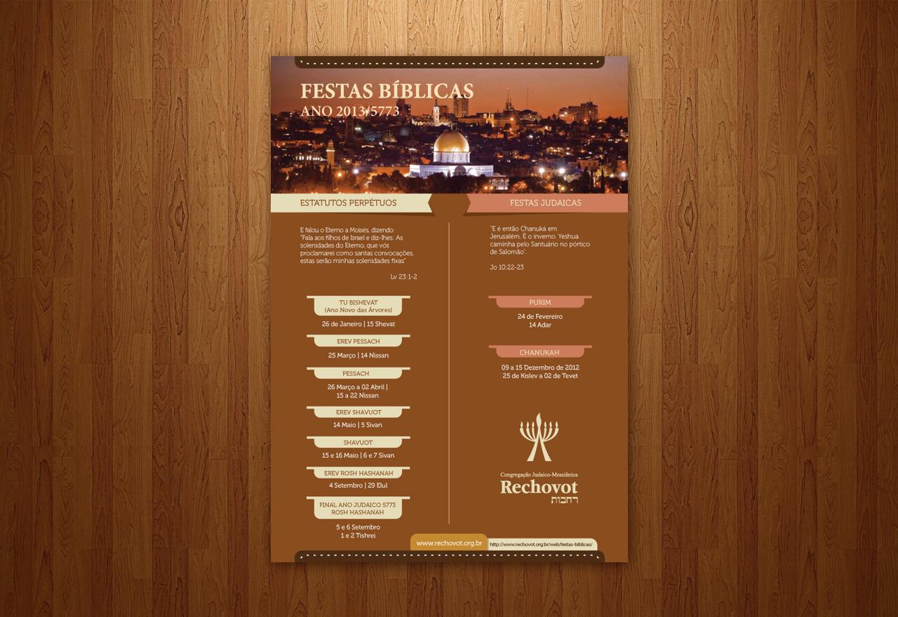 Rechovot – Calendário de Festas Bíblicas