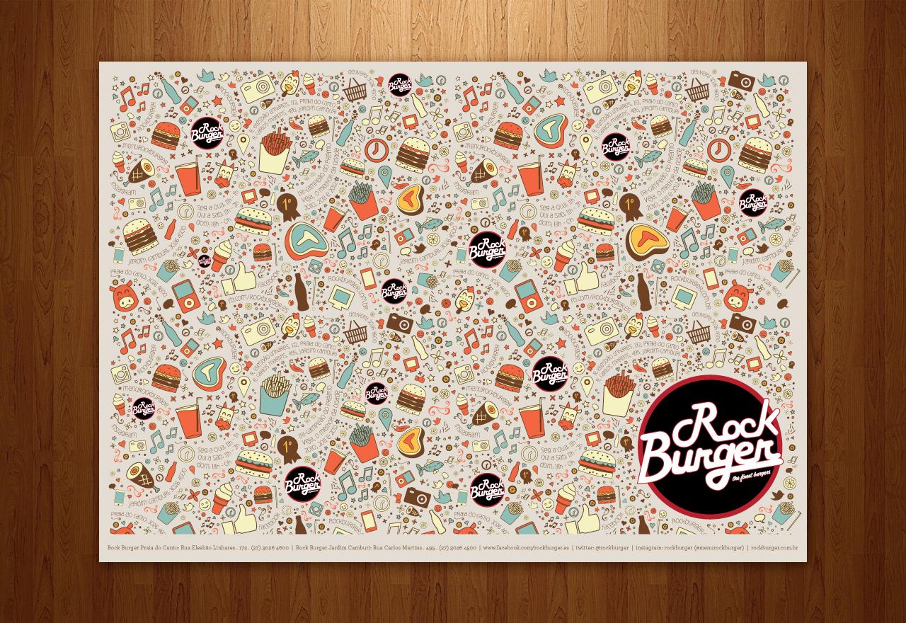 Rock Burger – Jogo Americano