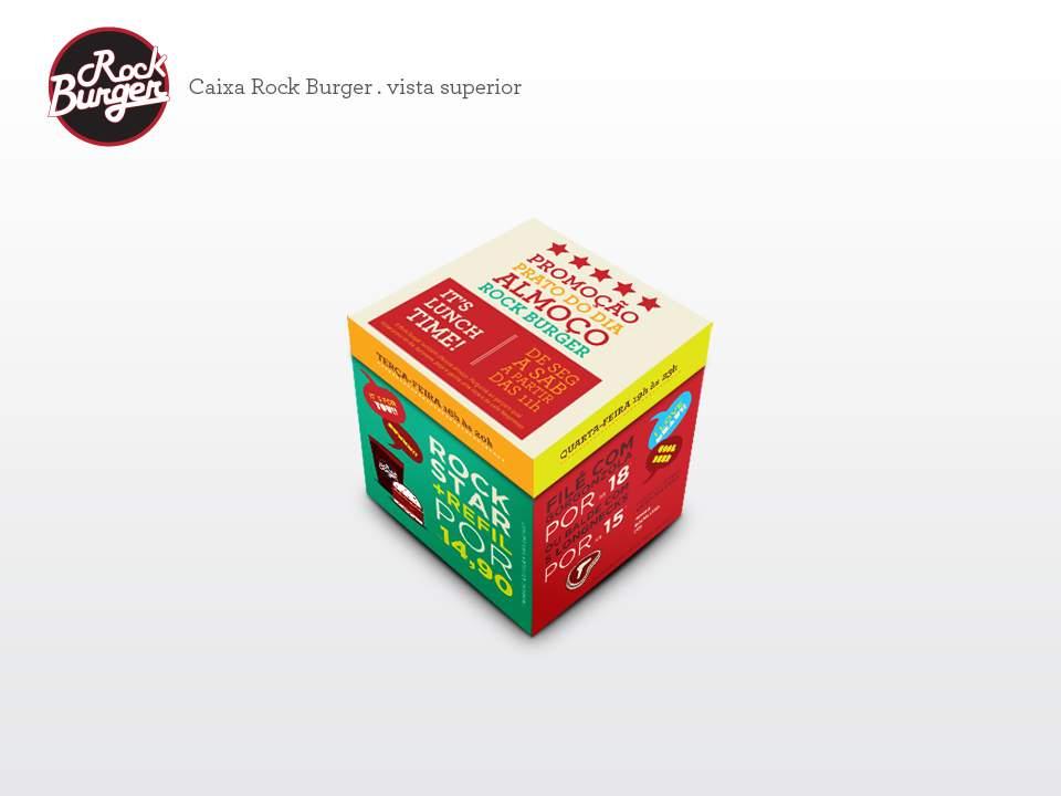 Rock Burger – Caixa de Mesa