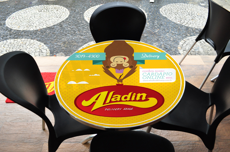 Aladin – Adesivos para Mesas