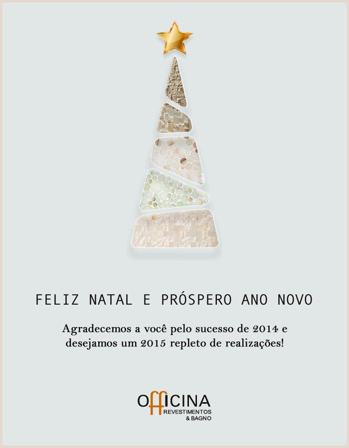 Cartão de Natal – Officina Revestimentos & Bagno
